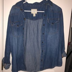 Forever 21 Denim Shirt
